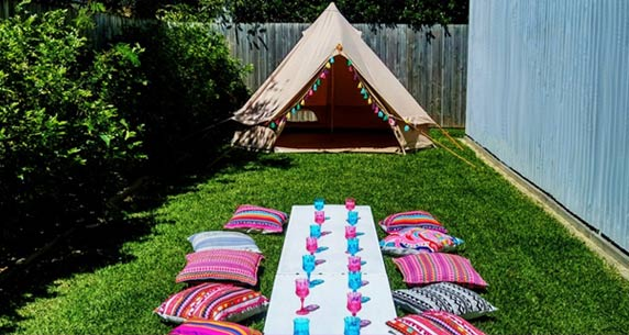 Glamping Tent Hire