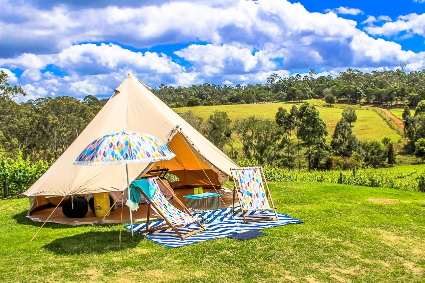 lamping-south-east-qld-countryside-bell-tent-hire