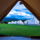 Canungra Wedding Bell Tent Guest Accommodation