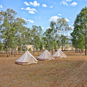 Bell Tents in Country Setting