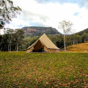 Bell Tent in the country