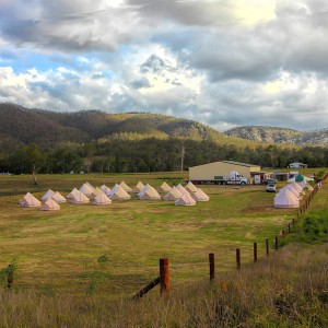 Bell Tents in the country