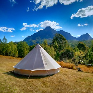 Bell Tent overlooking beautiful view