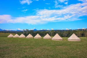 Bell Tent Wedding Accommodation