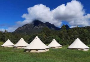 brisbane event hire tents overlooking mountains